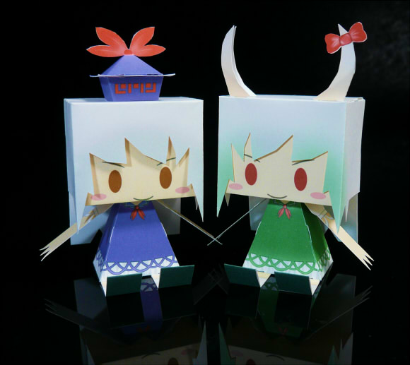 Touhou Project- Graphig Keine Papercraft